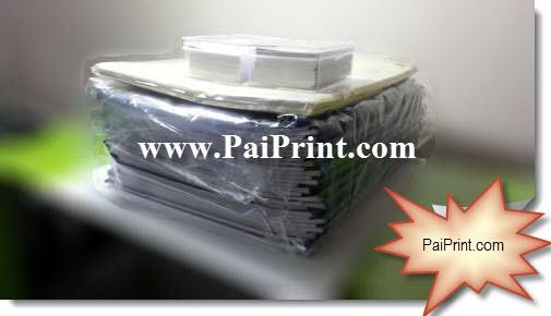 ปริ้นสี นามบัตรสี ปริ่นสีเลเซอร์ บนกระดาษแข็ง