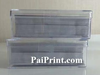 นามบัตร พิมพ์สี 230แกรม