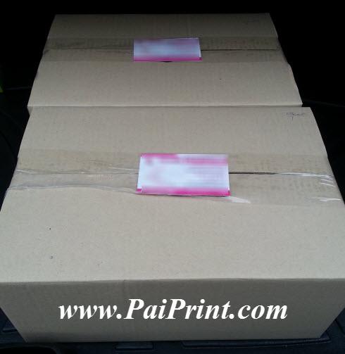 นามบัตรสี พิมพ์สองด้าน กระดาษอาร์ตมัน 250g
