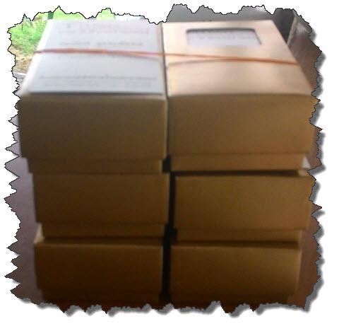 นามบัตรเคลือบด้าน 3ชื่อ ชื่อละ200ใบ บรรจุกล่องละ100ใบ พร้อมใช้งาน