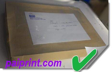 ปริ้นสีเอกสาร พร้อมจัดส่ง EMS ไปรษณีย์